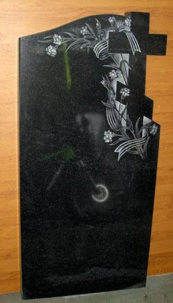 фото Крест с георгиевской лентой